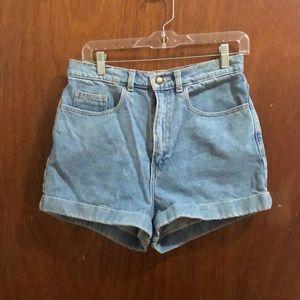 American Apparel 30 in waist denim shorts
